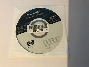 Genuine Hp Restore Plus 325277-B25 325277 HP d530/d538 Restore Disc