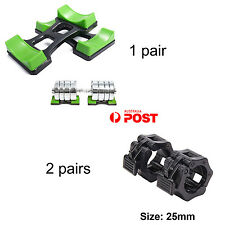 25mm Weight Lifting Bar Collars Barbell Lock Weight Lifting Dumbbell Rack Stands