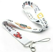 FRIENDS TVA Lanyard Mobile Phone ID Card Holder Clip 45cm Strap Keychain Car Key
