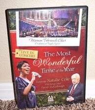 The Most Wonderful Time of Year DVD LDS MORMON Tabernacle Choir Natalie Cole