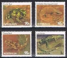 Australië postfris 1983 MNH 826-829 - Reptielen / Animals