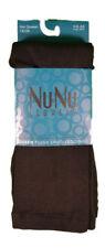 NuNu Leggings Black Opaque Queen1X/2X Plush Lined Ladies Footless Winter Legging