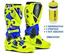 Stivali MX SIDI Tony Cairoli Limited Edition Crossfire 3 SRS Blu 45