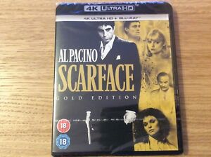 Scarface 4K Ultra HD blu ray. Cult.