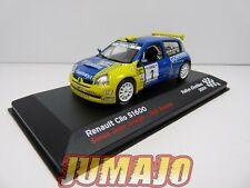 RFR4 voiture 1/43 IXO Altaya Rallye RENAULT Clio S1600 Jean Joseph Boyère 2004