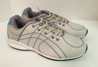 Curves Women's Sneakers White Blue Size 9 Shoes