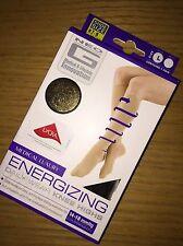 Neo G Energizing Knee High Socks Black LARGE Compression Flight Size 7- 9 NEW