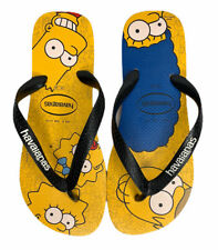 NEW Mens Havianas The Simpsons Bart Maggie Homer Marge Thong Flip Flop Sandals 8