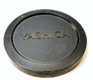 Yashica 55mm Lens front Cap slip in  type Plastic for 50mm f1.4 Yashinon 57mm ID
