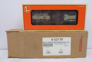 DA Lionel 52179 Chicagoland #10 ACL Uncle Herb Action Box Car Mint Shipper