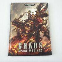 Warhammer 40k Chaos Space Marines Codex Hardback Book Games Workshop