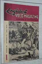 ENGLEBERT VELO-MAGAZINE SCOOTERS CYCLOS #40 1955 SALON PARIS ONDINE RECORD HEURE