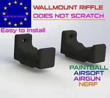 wallmount riffle airgun airsoft nerf no scratch support mural wall mount gun pcp