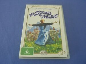 The Sound Of Music DVD 40th Anniversary Julie Andrews R4 Free Postage
