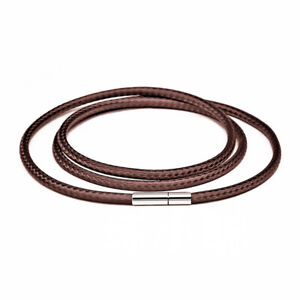 Leather Necklace cord string rope chain diy necklace bracelet for jewelry making