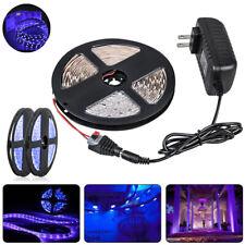 5M UVC LED Strip light Sterilizati 5050 300 leds Flexible Purple lamp Full kit