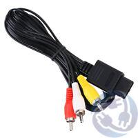 AV Audio Video A/V Stereo RCA Cables for Nintendo Gamecube SNES N64 GC NGC
