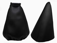 Para DAEWOO LANOS 1997-2004 Fuelle Palanca de Cambio y Freno - Costuras Negro