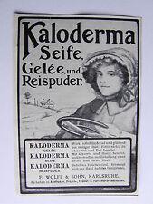 Werbe-Anzeige , Kaloderma Seife