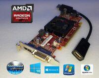 Dell XPS 200 210 Slim / Studio 540S Low-Profile DVI HDMI DP Video Graphics Card