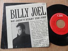 """DISQUE 45T DE BILLY JOEL  """" WE DIDN'T START THE FIRE """""""