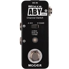 New Mooer ABY AB Switch Micro Guitar Pedal!