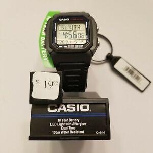 Casio W800H-1AV Mens Digital Sports Watch - Black