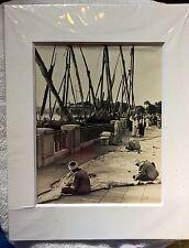"Original Photo John Bryson Life Magazine ""Cairo"" 11 X 14 with Matting"
