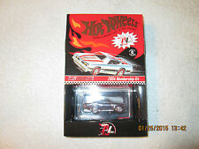2004 HOT WHEELS RLC MEMBERSHIP CAR CHROME BARRACUDA RED STRIPES  0529/5000