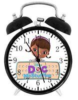"Disney Doc Mcstuffins Alarm Desk Clock 3.75"" Home or Office Decor E02 Nice Gift"