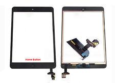 iPad Mini 1 Retina 2 Touchscreen Digitizer Touch Home Button & IC-Chip Schwarz