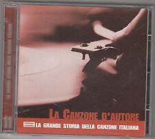 LA GRANDE STORIA DELLA CANZONE ITALIANA - la canzone d'autore CD