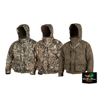 DRAKE WATERFOWL MST STRATA SYSTEMS FULL ZIP CAMO COAT JACKET