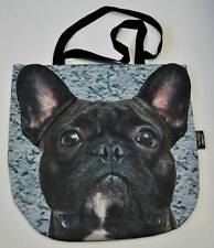 3D bag animal Cute & Unique Gift with FRENCH BULLDOG BLACK Handmade!