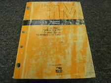John Deere 750B 850B Crawler Dozer Operation Tests Service Repair Manual TM1332