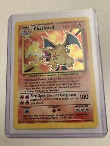 Charizard Holo Rare - 4/102 Base Set - Ungraded
