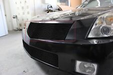 GTG 2004 - 2009 Cadillac XLR 1PC Gloss Black Upper Replacement Billet Grille