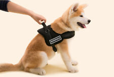 Adjustable Soft Padded Non Pull Dog Harness Vest Chest Strap-Extra Small Black