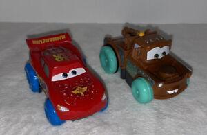 Disney Cars Hydro Wheels Lightning McQueen & Mater