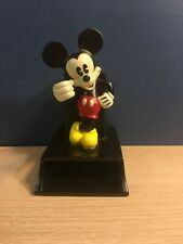 Vintage Disney Mickey Mouse Pen Pencil Notepad Holder Desk Top Accessory Black