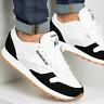 Reebok Mens Classic Leather MU Shoes Trainers White/Black FY9526 UK 10.5
