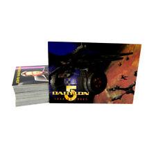 1996 Skybox Babylon 5 Trading Card Set (60) Nm/Mt