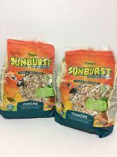 New listing 2x Higgins Sunburst Gourmet Blend For Parrot