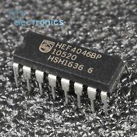 10PCS HEF4046BP DIP-16 HEF4046,652 IC PHASE-LOCK LOOP MCPWR PHILIPS