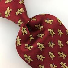"XL 60"" ROUNDTREE YORKE TIE Sugar Cokies Traffic Lights Silk Necktie N4-259"