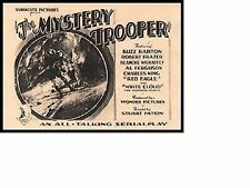 The Mystery Trooper - Classic Cliffhanger Serial Movie DVD Robert Frazer