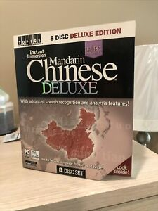 Learn to Speak MANDARIN CHINESE Language DELUXE 4 Audio CD's listen in your car