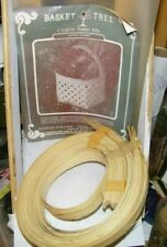 vintage basket tree basket kit Lattice basket La Farge,Wi + 3 how to make bookle