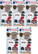 Washington Nationals Uniform Stickers MLB Scrapbook licensed WHOLESALE LOT of 5