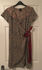 Kate Moss Topshop Wrap dress 12
